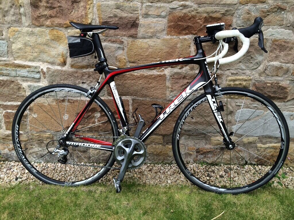 Trek Madone 5 2 Road Bike 58cm Ocvl Carbon Frame With
