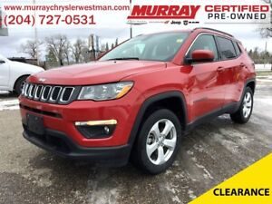 2017 Jeep Compass North 4WD *Nav* *Backup Cam* *Heated Seats* *S