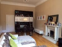 2 bed grand flat in Merchiston from early Dec