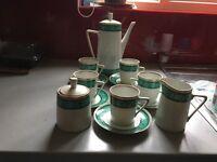 Retro Walbrzych coffee set
