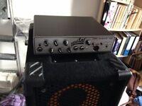 Aguilar TH500 bass amp & Aguilar carry case