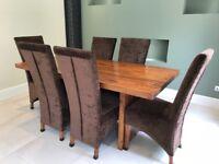 Fenwicks Solid Oak Dining Table