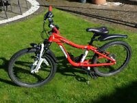 """Childs 20"""" Wheel Specialised Hotrock Mountain Bike. Six speed & front suspension"""