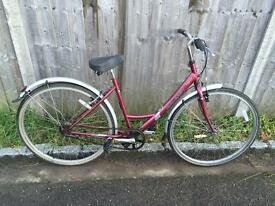 Raleigh Caprice Ladies Town Bike. Fully Serviced, Fred D-Lock, Lights, Delivery