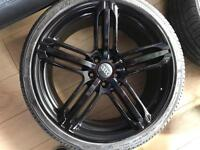 """Audi alloy wheels 20"""" in perfect showroom condition"""