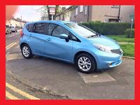 (15800 Miles)-- 2014 Nissan Note 1.5 dCi Diesel --- Acenta Premium Style --- alternate4 toyota auris