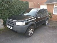 2004 LAND ROVER FREELANDER TD4 - SPARES or REPAIR - Low mileage for age.