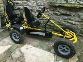 Berg super go kart - 2 seats - good condition