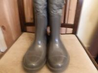 LADIES WELLINGTON BOOTS MISS SIXTY SIZE 39