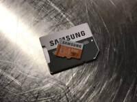 Samsung 64gm msd card