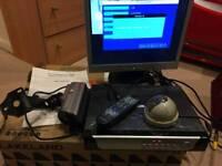 CnM DVR 4ch Digital Video Recorder CCTV Cameras