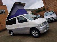 1998 Mazda Bongo Camper Pop Top 4 Berth 2.5 Diesel - Automatic - 3 Months Warranty