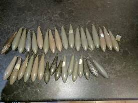 JOB LOT OF FISHING WEIGHTS