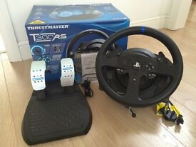 Thrustmaster T300RS Steering Wheel + Peddles for PS4 & PS3