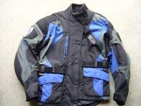 Ladies Richa motorcycle jacket size 12 never worn !