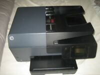 Printer HP Officejet Pro 6830 A4 Colour All-in-One Printer Scanner Fax With Ink Cartridges