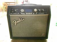 Fender Gdec3 15W modelling amp & footpedal, looper, tuner, 99 presets, dozens of backing tracks,