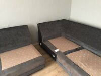 Left facing dfs corner sofa for sale. 2 years old, excellent condition.selling due to moving house.