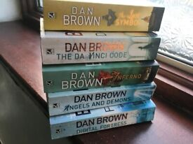 5 Dan Brown Books
