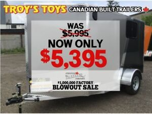 2018 Canadian Trailer Company FACTORY BLOWOUT! 6X10 V-Nose Cargo