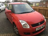 IDEAL FIRST CAR 2008 SUZUKI SWIFT GLX 5DR RED, ONLY 62K ON THE CLOCK****