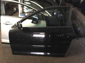 2006 Audi A3 3 door passenger front door in black fits from 04/2008