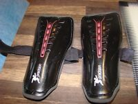 Shin Pads, Size M, never worn. With velcro adjustable fastenings. £2.50. Torquay