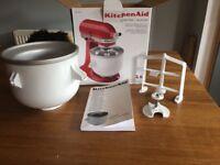 Kitchen aid (kitchenaid) Ice cream maker brand new in box