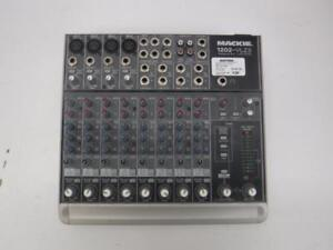 Mackie 12 Channel Mic/Line Mixer - We Buy and Sell Pre-Owned Audio Equipment at Cash Pawn - 7474 - AT831405