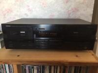Yamaha Twin cassette deck