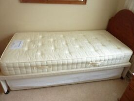 guest bed with two mattresses in very good condition. Head board also available if required.