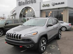 2015 Jeep Cherokee Trailhawk   4X4   BACK UP CAM   HEATED SEATS