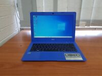 11.5'' Acer Laptop, Intel Celeron, 2GB RAM & 32GB HDD