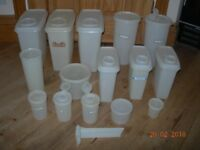 TUPPERWARE CONTAINERS JOB LOT BUNDLE VINTAGE RETRO