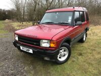 1997 LANDROVER DISCOVERY XS V8I AUTO ** LPG GAS ** NEW MOT & SERVICE! BEST ON NET! 7 SEATS!