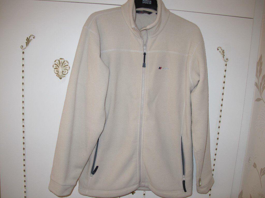 Ladies cream Berghaus Fleece Jacket size Large   in Aston, South ...