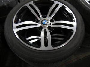 17 INCH USED BMW M6 RIMS & RUNFLAT TIRES - REPLICAS - CHEAP DEAL