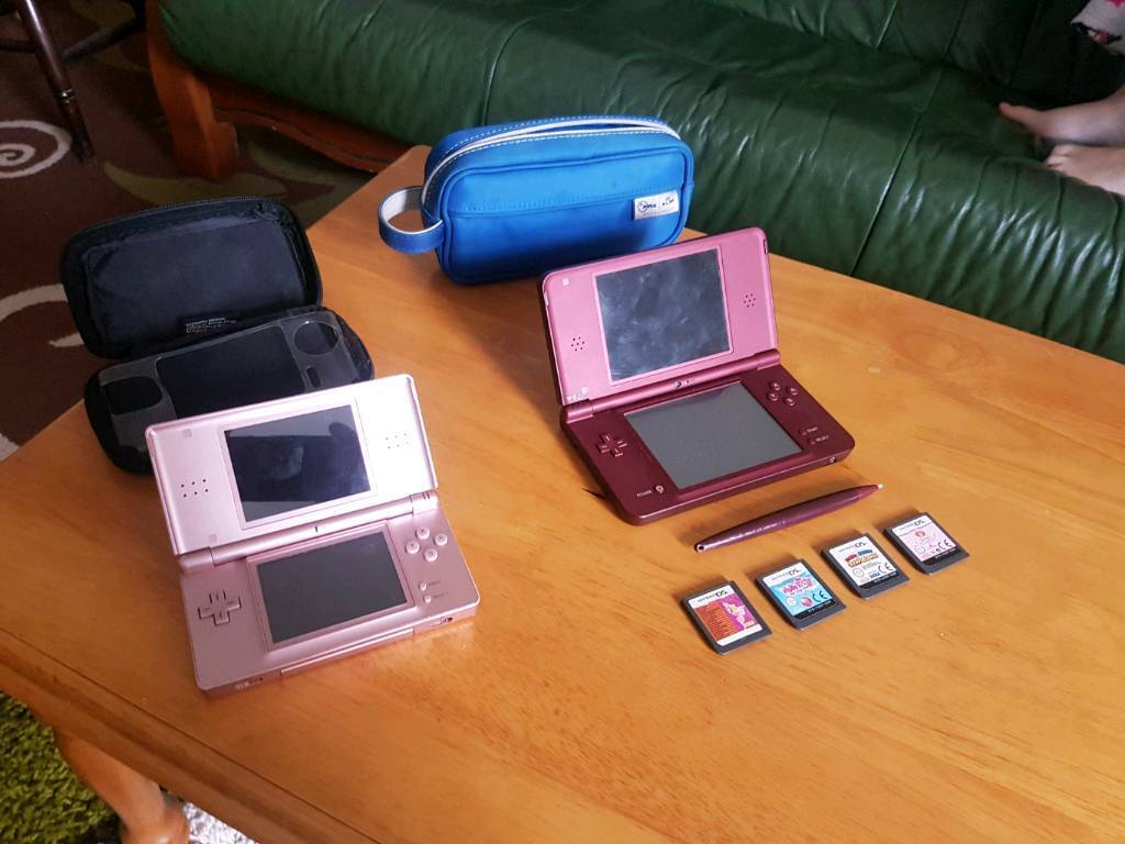 nintendo ds xl and ds lite