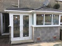 Small aluminium roofed summer room / conservatory for sale,