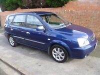 KIA CARENS 2005 REG WITH LONG MOT, FULL HISTORY, LOW MILES, NEW CLUTCH, NICE SPEC WITH AIR CON