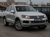 VOLKSWAGEN TOUAREG 3.0 V6 Tdi 245 Se 5dr Tip Auto [Electric Tailgate, Sat Nav, Heated Seats] 2012