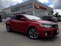 2013 Kia FORTE KOUP SX | CLEAN | ONE OWNER | LEATHER | ROOF|