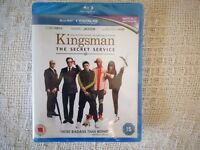 Kingsman: The Secret Service Blu Ray