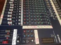 Yamaha MG166c mixer