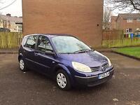 **2005 05 Reg Renault Scenic Authentique 1.5 DCI Diesel 12 Months MOT S/History 100% Excellent**