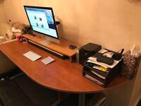 Corner Office Desk L Shape