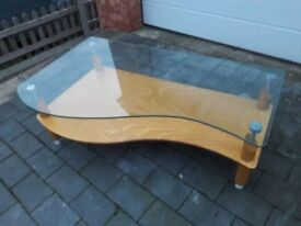Coffee table & matching Side table