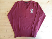 Newman School girls sweater