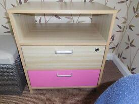Bedside Cabinet (beech effect)