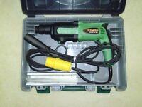brand new Hitachi SDS Hammer drill, Circular saw and 110 Transformer